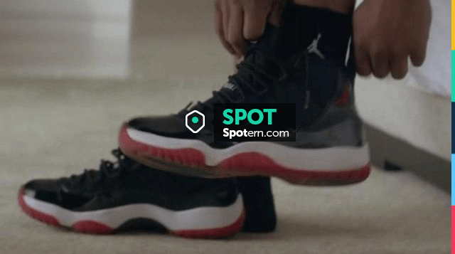 The Jordan 11 bred Michael B. Jordan in Creed | Spotern