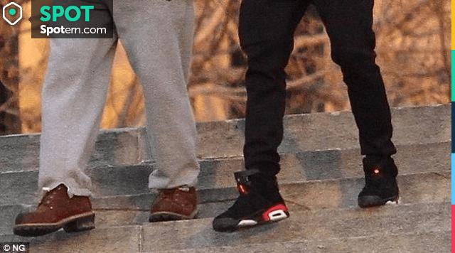 Air Jordan shoes of Michael B. Jordan