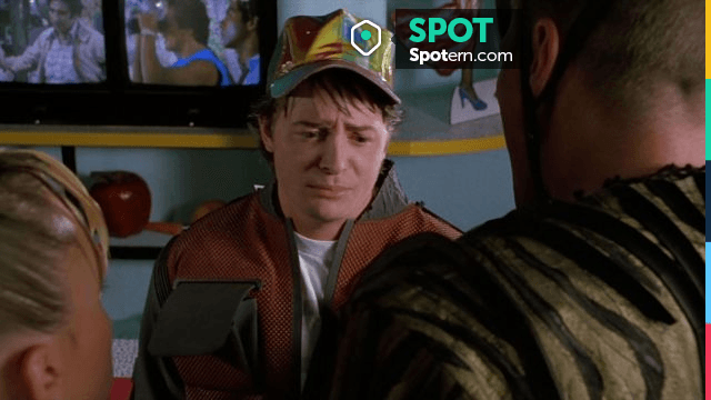 Retour au Futur Réplique Casquette Marty Mcfly Hat Officiel Diamond Back Future