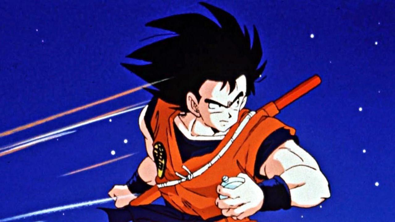 Le deguisement / costume de San Goku dans Dragon Ball Z
