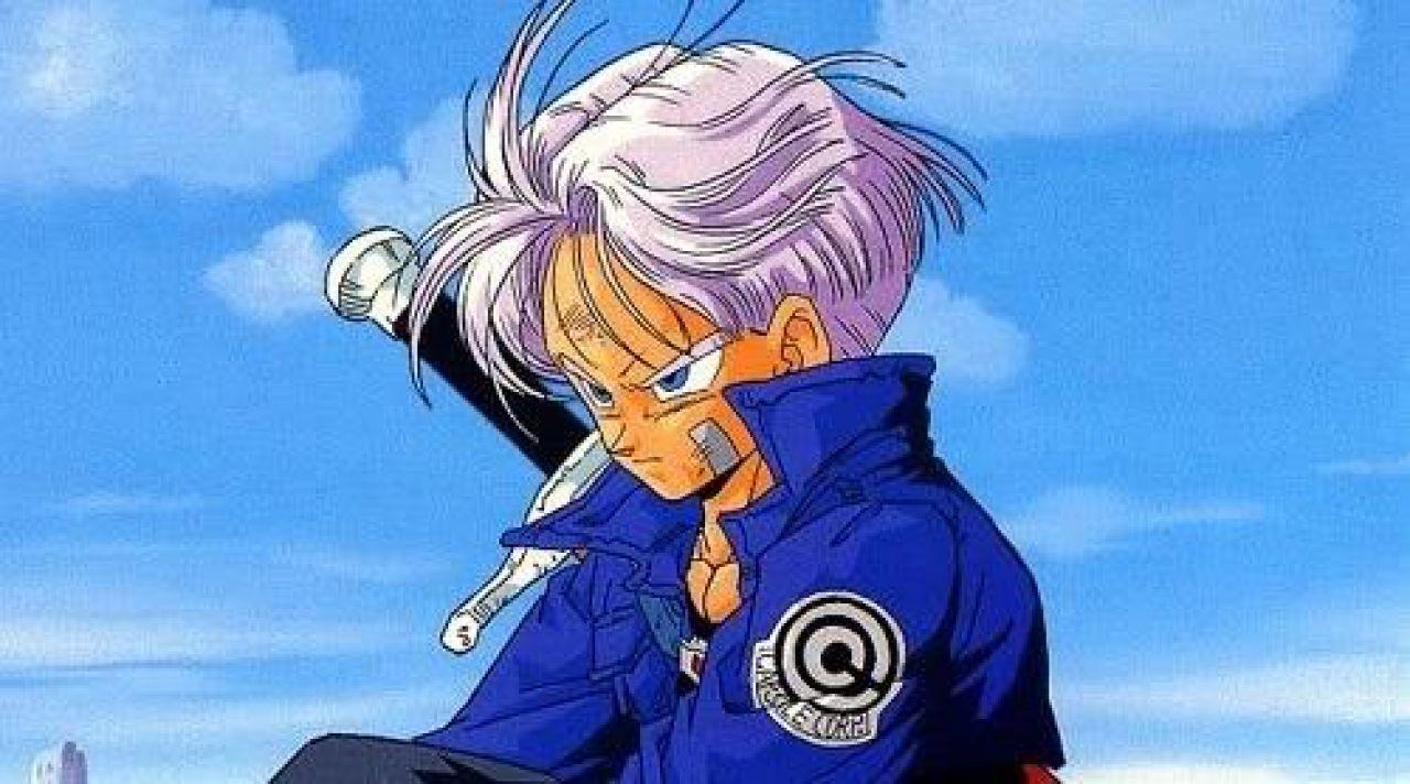 L'écusson Capsule Corp de Trunk dans Dragon Ball Z