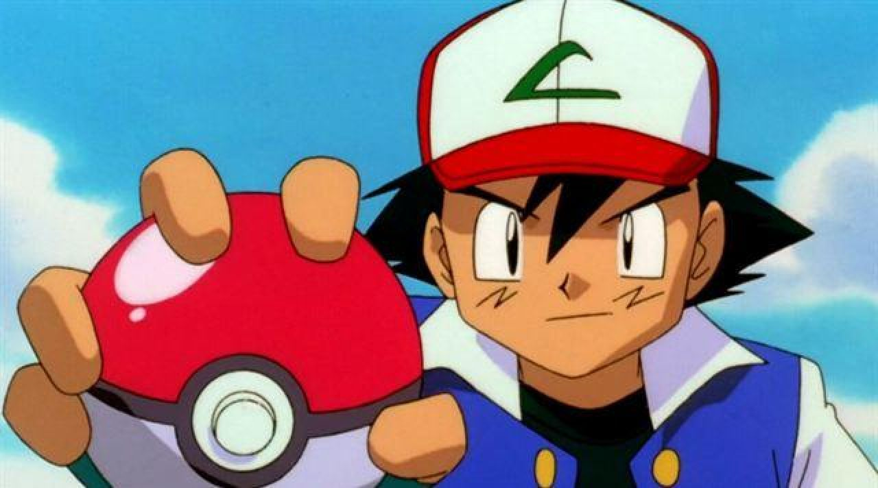 La casquette de sacha dans Pokemon