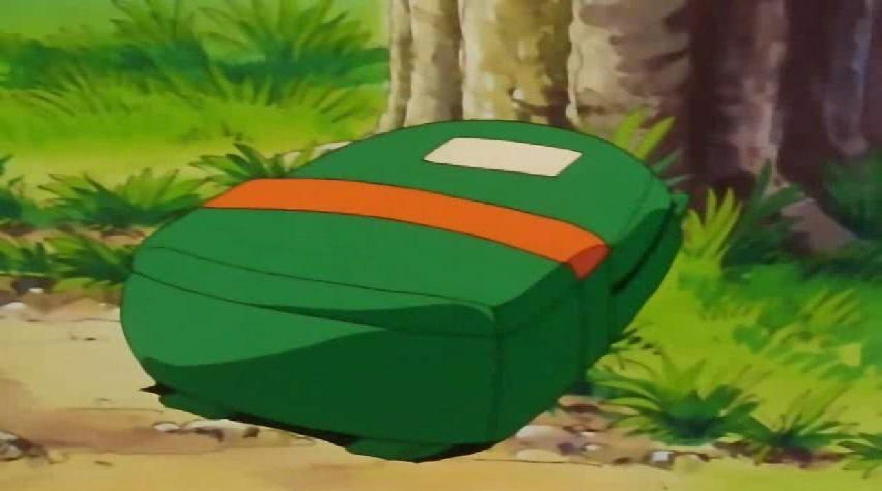 Le sac à dos de Sasha dans Pokémon