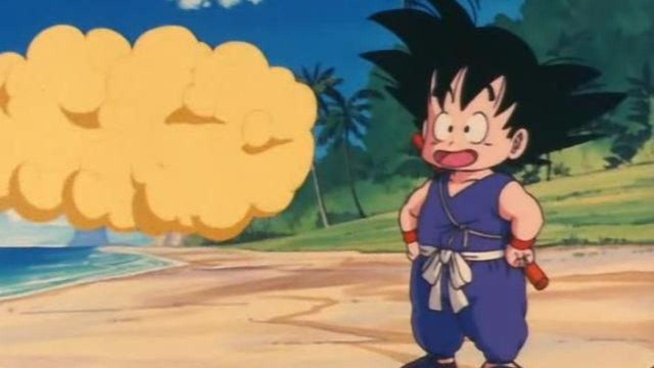 La figurine Funko Pop de Goku & Nimbus dans DragonBall Z