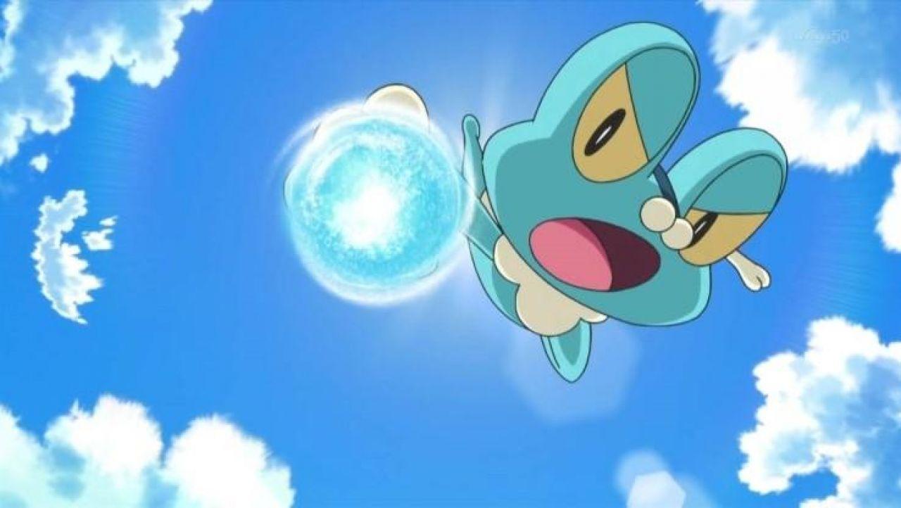 La figurine de Grenousse  dans Pokemon