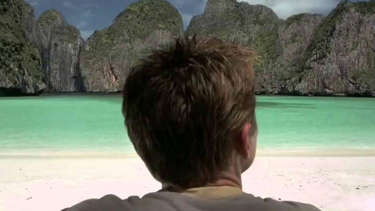 Le Maya Bay en Thaïlande dans le film La Plage