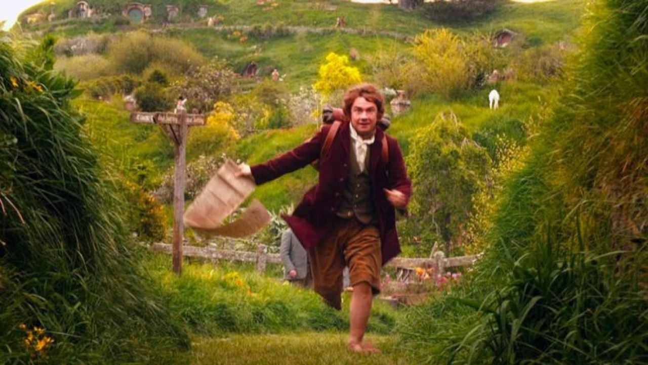 Le village Hobbiton à Matamata en Nouvelle Zélande dans le film Hobbit