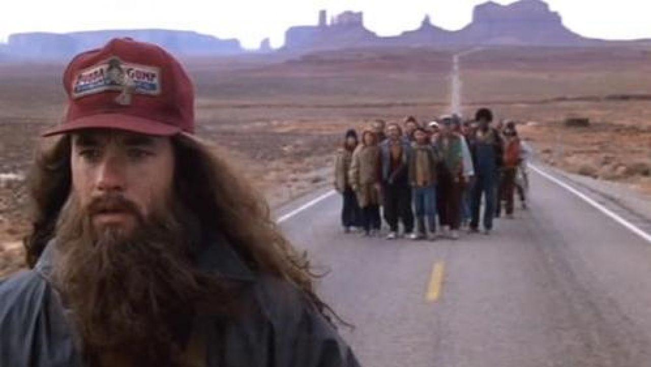 Le monument Valley aux Etats-Unis dans le film Forrest Gump