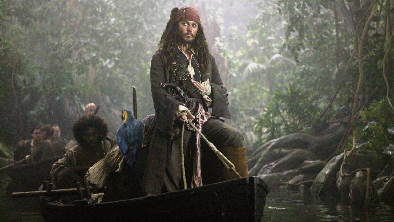 L'Indian River en Dominique dans le film Pirates des Caraïbes 2
