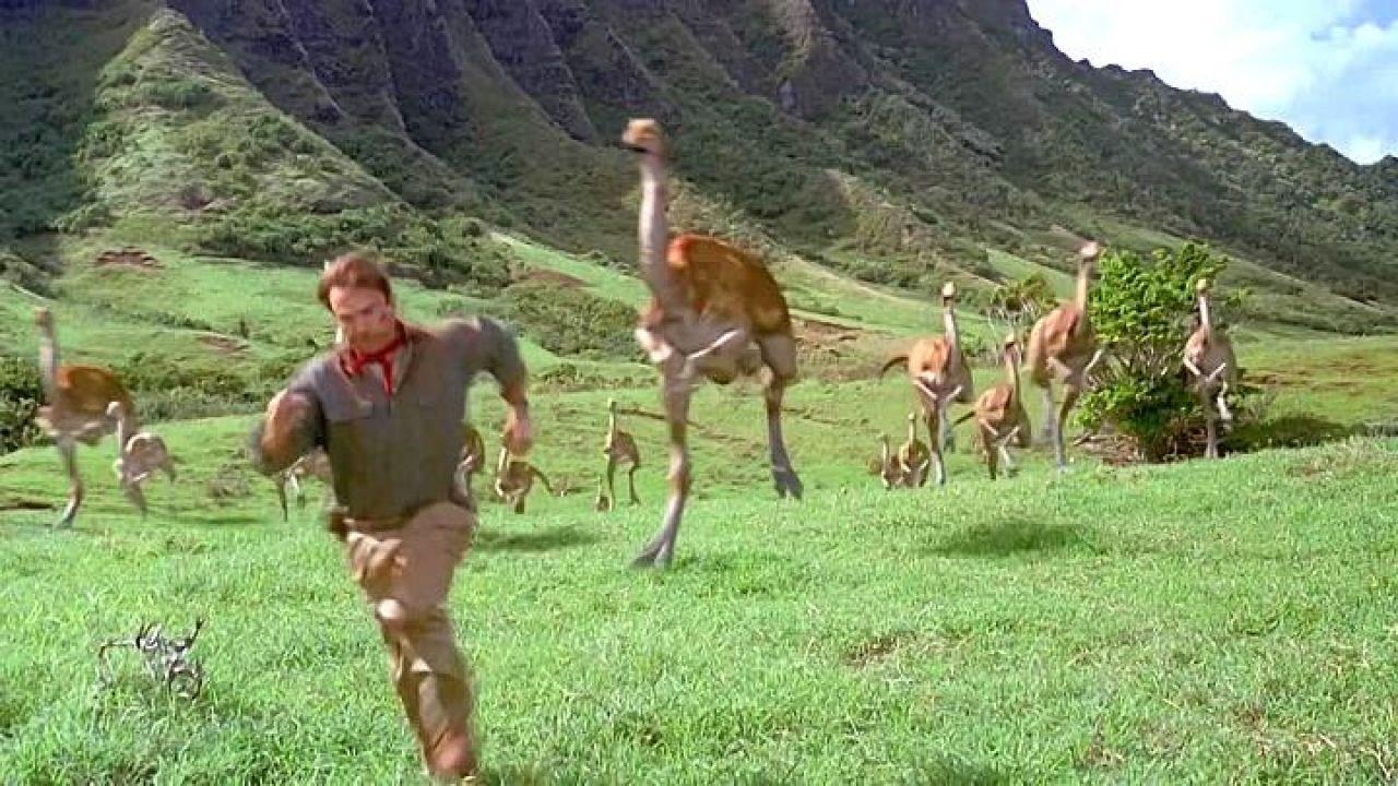 Le Kuala ranch à Hawaï dans le film Jurassic Park