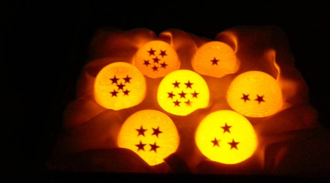 Les 7 boules de cristal dans Dragon Ball Z