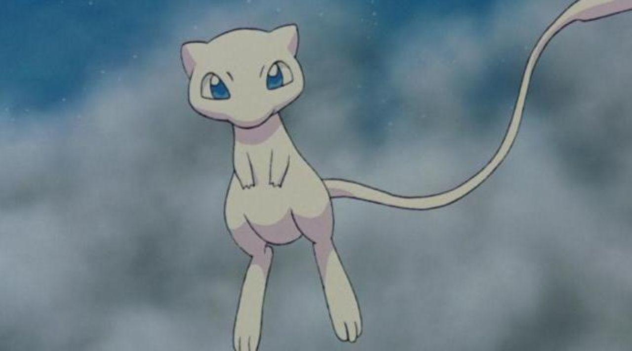 Peluche très similaire à Mew dans Pokemon