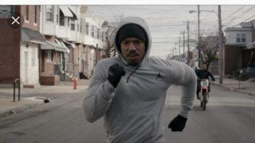 crazy price detailing super quality Sweatshirt grey Air Jordan Michael B. Jordan in Creed | Spotern