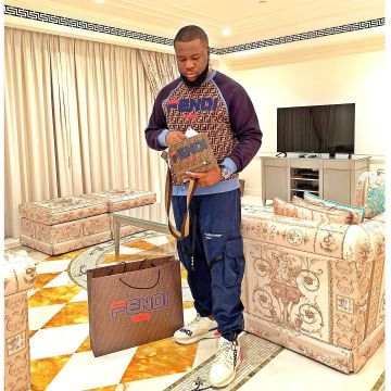 Off-White Cargo Pants worn by Ray Hushpuppi on his Instagram account  @hushpuppi | Spotern