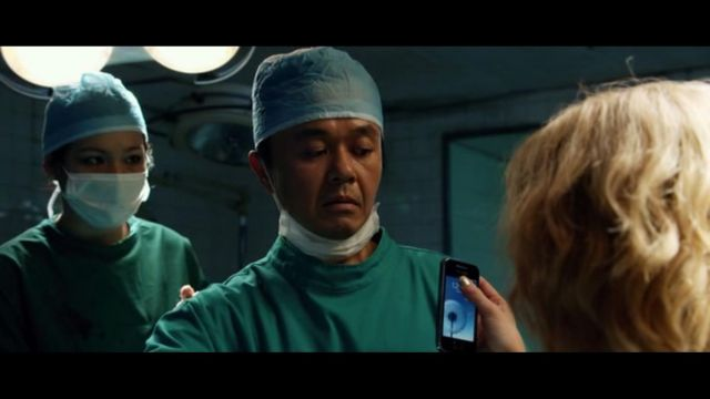 The Smartphone of Scarlett Johansson in Lucy