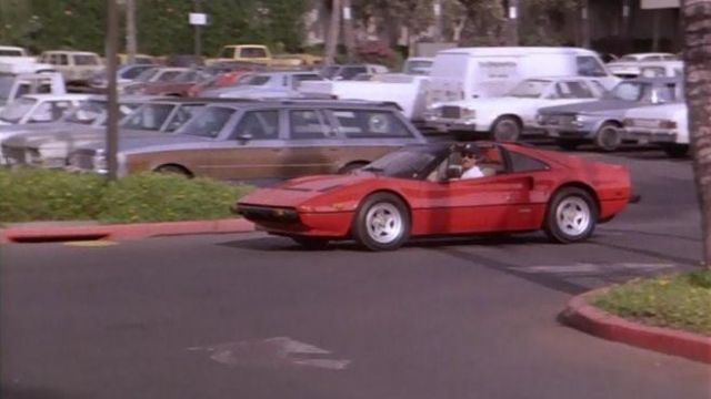 The Ferrari 308 Gts Of Thomas Magnum Tom Selleck In The Magnum S04e15 Spotern