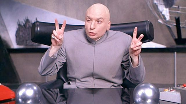 The chair of Dr Evil in Austin Powers