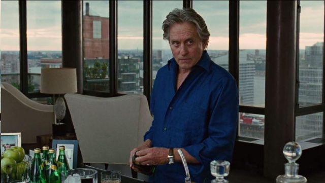 The watch IWC Gordon Gekko (Michael Douglas) in Wall Street : money never sleeps