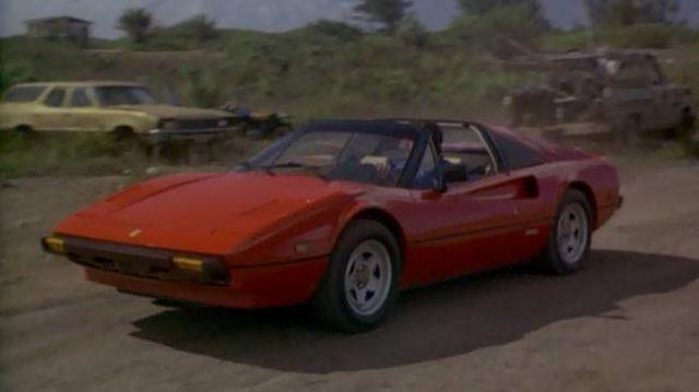 The Car Ferrari 308 Gts Of Thomas Magnum Tom Selleck In The Magnum S02e07 Spotern