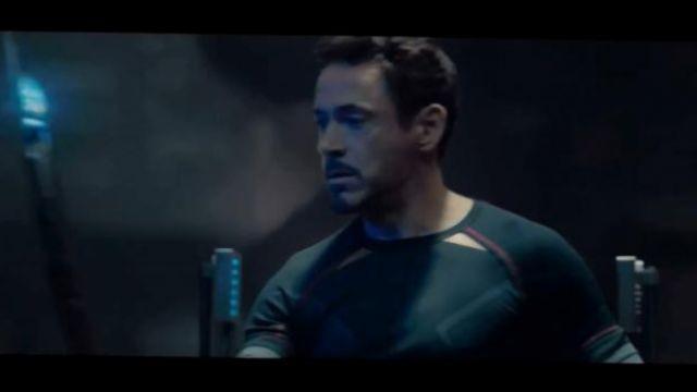 Le T shirt Under Armour de Tony Stark dans Avengers : l'ère