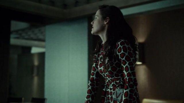 La robe Diane Von Furstenberg de Alana Bloom (Caroline Dhavernas) dans Hannibal (S01E13)
