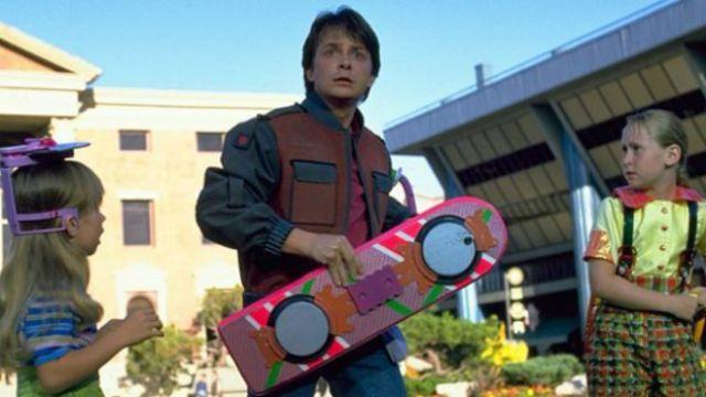L'Hoverboard (Hendo project) de Marty McFly dans Retour vers le Futur 2
