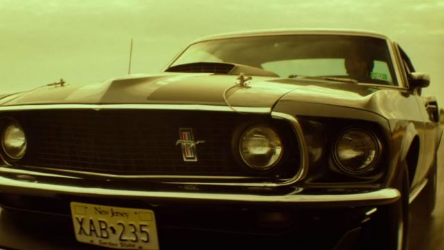 The Ford Mustang Mack 1 of 1969 from John Wick (Keanu Reeves) in John Wick