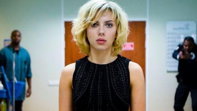 The dress Iris Van Herpen Scarlett Johansson in Lucy