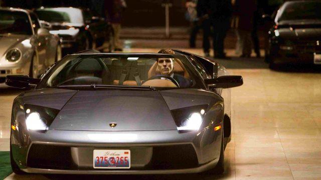 The Lamborghini Murcielago Roadster from Bruce Wayne in Batman Begins