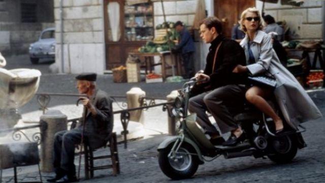 The Lambretta Innocenti C-type Matt Damon in The talented Mr. Ripley