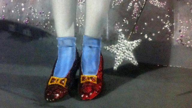 Chaussures rouges de Dorothy dans Le magacien d'Oz (1939)