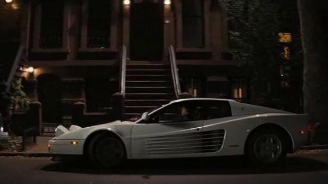The Ferrari Testarossa white Jordan Blefort (Leonardo DiCaprio) in The Wolf of Wall Street