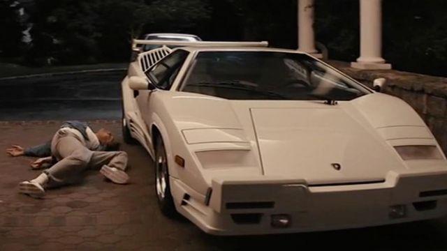 The Lamborghini Countach of Jordan Belfort (Leonardo DiCaprio) in The Wolf of Wall Street
