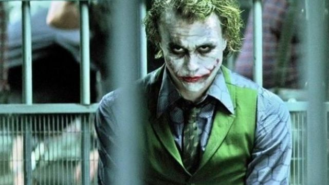 The shirt of the Joker (Heath Ledger) in The Dark Knight