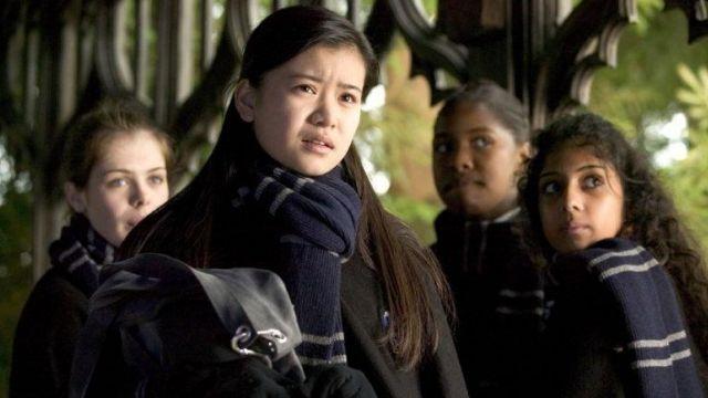 L\u0027écharpe Serdaigle de Cho Chang (Katie Leung) dans Harry
