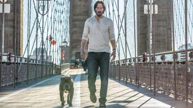 The watch Carl F. Bucherer John Wick (Keanu Reeves) in John Wick : Chapter Two