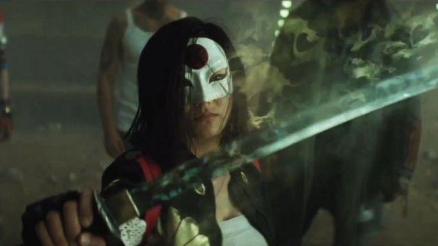 Leather Jacket worn by Tatsu Yamashiro / Katana (Karen Fukuhara) as seen in Suicide Squad