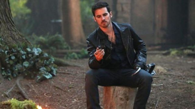 Leather Jacket Worn By Captain Hook Killian Jones Colin O Donoghue As Seen In Once Upon A Time S07e01 Spotern Captain killian 'hook' jones / rogers. leather jacket worn by captain hook