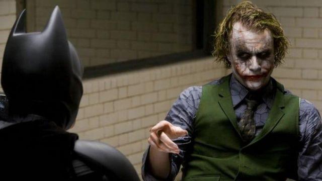 Necktie worn by The Joker (Heath Ledger) as seen in Batman: The Dark Knight