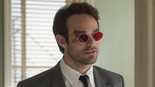 Red Sunglasses worn by Matt Murdock (Charlie Cox) as seen in Marvel's Daredevil S01E01