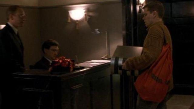 Red Bank Duffle Bag used by Jason Bourne (Matt Damon) as seen in Bourne Identity