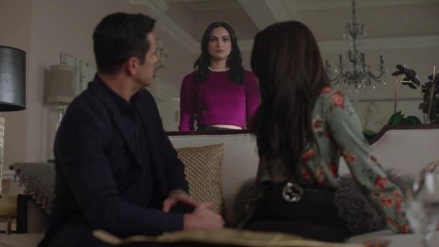 BananaRepublic sweatdress worn by Veronica Lodge (Camila Mendes) in Riverdale S02E13