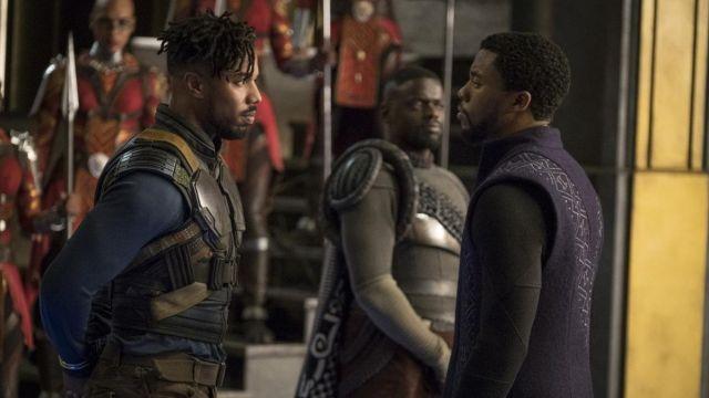 Military Costume worn by Erik Killmonger (Michael B. Jordan) as seen in Black Panther