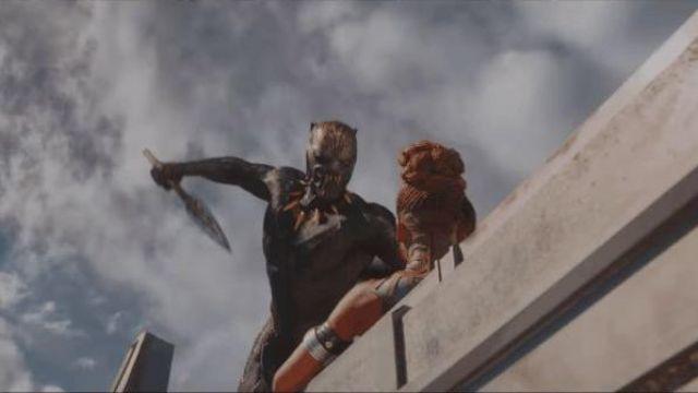 Killmonger (Michael B. Jordan) Jaguary ceremony mask as seen in Black Panther