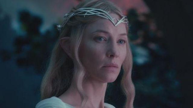 Le diadème de Galadriel (Cate Blanchett) dans Le Hobbit : Un voyage inattendu