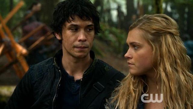 The jacket worn by Bellamy Blake (Bob Morley) in The 100 (S01E11)