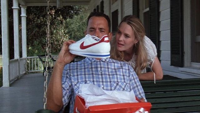 new collection top quality uk cheap sale Nike Cortez Sneakers worn by Forrest Gump (Tom Hanks) as ...