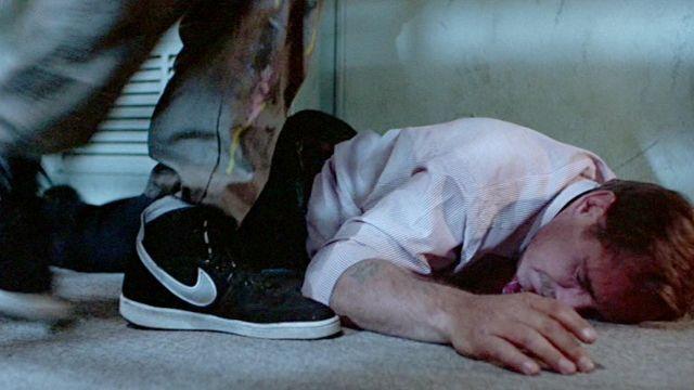 Nike Vandal Supreme Black sneakers worn