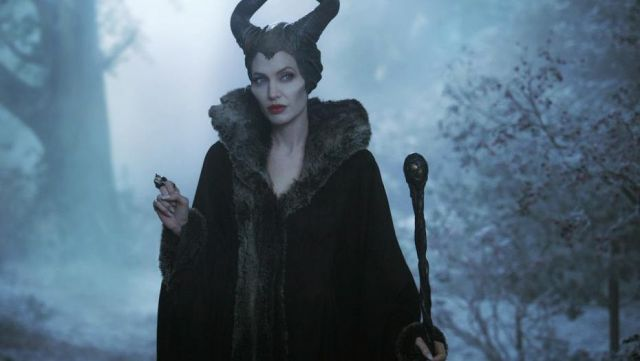 The Wand Of Evil Angelina Jolie In The Movie Evil Spotern