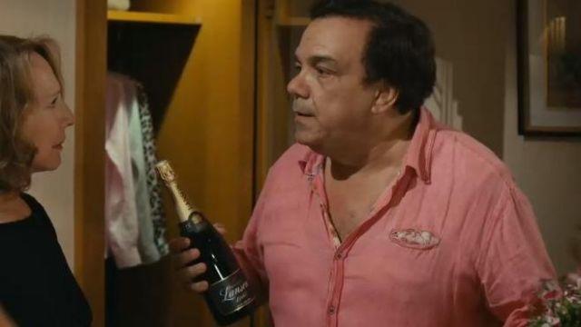 Le champagne Lanson de Gérard Martin (Didier Bourdon) dans le film Alibi.com